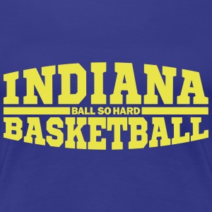 Indiana Basketball T-Shirts - Frauen Premium T-Shirt