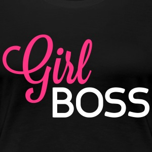 Girl Boss T-Shirts - Frauen Premium T-Shirt