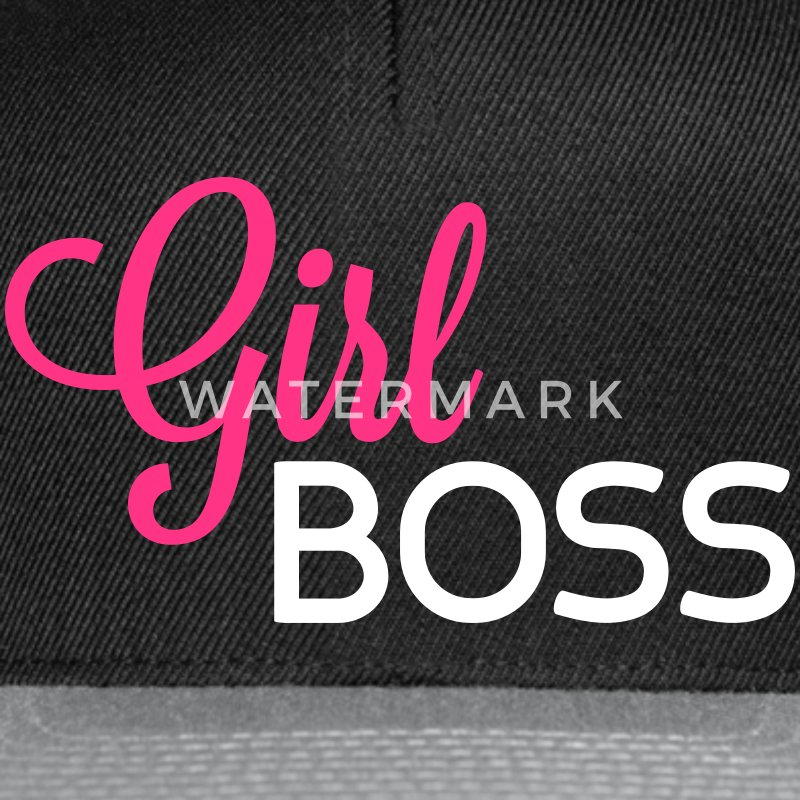 Girl Boss Caps & Hats - Snapback Cap
