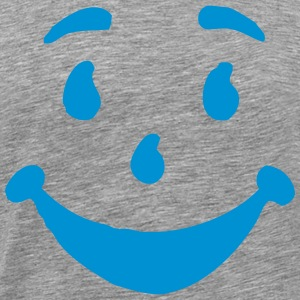 STUPID HAPPY FACE T-Shirts - Men's Premium T-Shirt