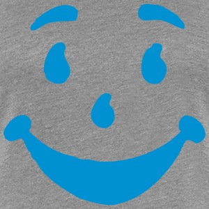 STUPID HAPPY FACE T-Shirts - Women's Premium T-Shirt