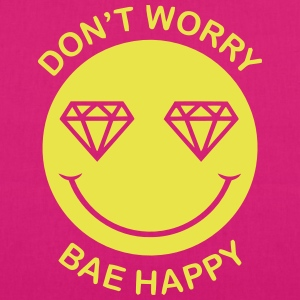 DON'T WORRY - BAE HAPPY Bags & Backpacks - EarthPositive Tote Bag