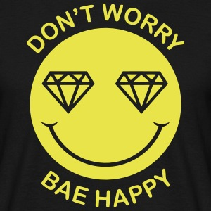 DON'T WORRY - BAE HAPPY Tee shirts - T-shirt Homme