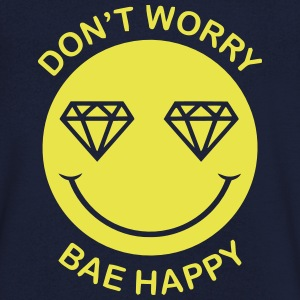 DON'T WORRY - BAE HAPPY Tee shirts - T-shirt Homme col V