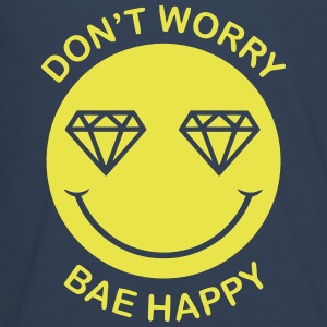 DON'T WORRY - BAE HAPPY Long Sleeve Shirts - Teenagers' Premium Longsleeve Shirt