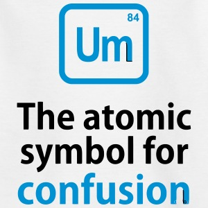 THE CHEMICAL ELEMENT OF CONFUSION Shirts - Kinderen T-shirt