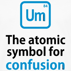 THE CHEMICAL ELEMENT OF CONFUSION Long sleeve shirts - Men's Premium Longsleeve Shirt