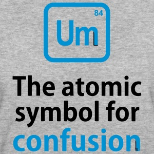 THE CHEMICAL ELEMENT OF CONFUSION T-shirts - Ekologisk T-shirt dam