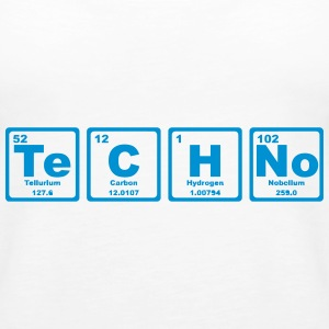 TECHNO PERIODIC TABLE Toppar - Premiumtanktopp dam