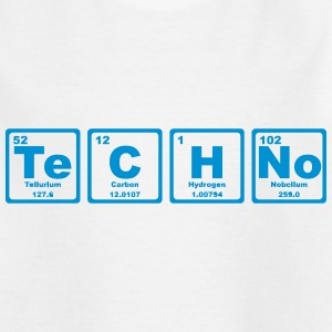 TECHNO PERIODIC TABLE Shirts - Teenage T-shirt