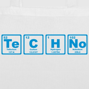 TECHNO PERIODIC TABLE Bolsas y mochilas - Bolsa de tela