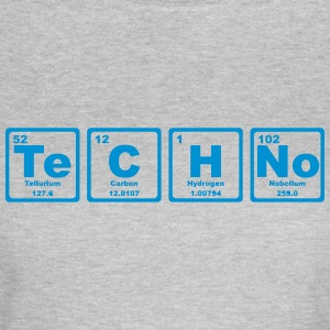 TECHNO PERIODIC TABLE T-shirts - Dame-T-shirt
