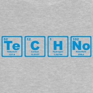 TECHNO PERIODIC TABLE Magliette - Maglietta per neonato