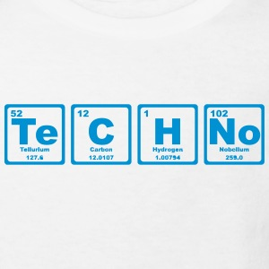 TECHNO PERIODIC TABLE T-shirts - Organic børne shirt