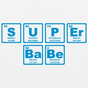 SUPERBABE PERIODIC TABLE OF THE ELEMENTS Tank Tops - Herre Premium tanktop
