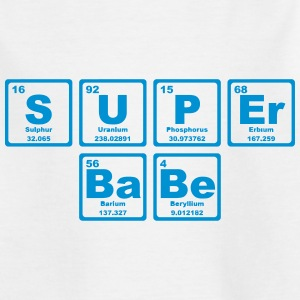 SUPERBABE PERIODIC TABLE OF THE ELEMENTS Shirts - Teenage T-shirt