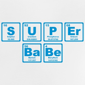 SUPERBABE PERIODIC TABLE OF THE ELEMENTS Skjorter - Baby-T-skjorte