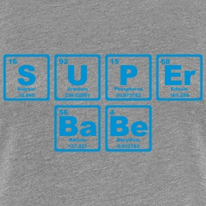 SUPERBABE PERIODIC TABLE OF THE ELEMENTS T-shirts - Dame premium T-shirt