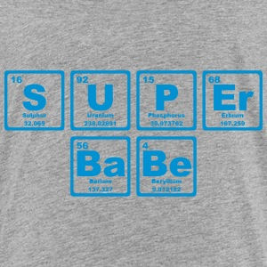SUPERBABE PERIODIC TABLE OF THE ELEMENTS Shirts - Kinderen Premium T-shirt