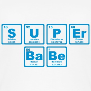 SUPERBABE PERIODIC TABLE OF THE ELEMENTS Tops - Vrouwen bio tank top