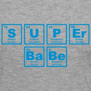 SUPERBABE PERIODIC TABLE OF THE ELEMENTS Long Sleeve Shirts - Women's Premium Longsleeve Shirt