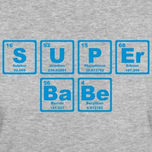 SUPERBABE PERIODIC TABLE OF THE ELEMENTS T-shirts - Ekologisk T-shirt dam
