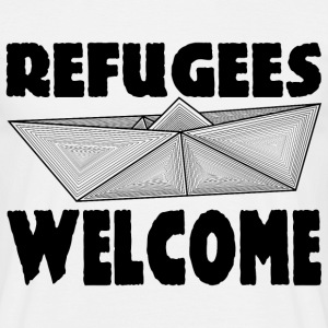 REFUGEES WELCOME! T-Shirts - Men's T-Shirt