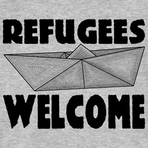 REFUGEES WELCOME! T-Shirts - Men's Organic T-shirt