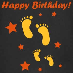 "Geburtstag T-Shirts mit ""Happy Birthday Baby!"""
