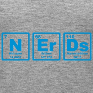 NERDS ELEMENTS OF THE PERIODIC TABLE Tops - Vrouwen Premium tank top