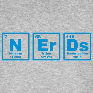 NERDS ELEMENTS OF THE PERIODIC TABLE Magliette - T-shirt ecologica da uomo
