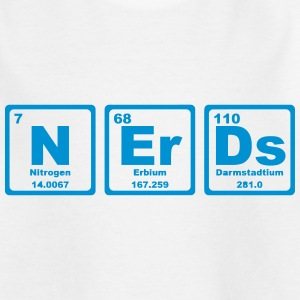 NERDS ELEMENTS OF THE PERIODIC TABLE Shirts - Kinderen T-shirt