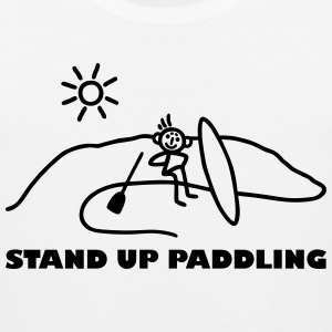 Stand Up Paddling Tank Tops - Men's Premium Tank Top