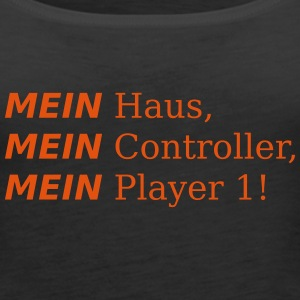 Mein Player 1!!! Tops - Frauen Premium Tank Top