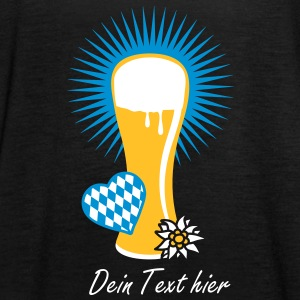 wheat beer glass Tops - Women's Tank Top by Bella
