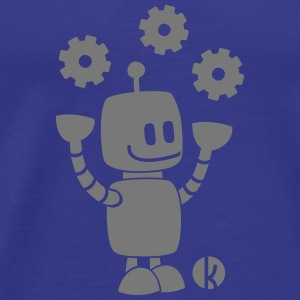 Happy robot - happy robot Tee shirts - T-shirt Premium Homme