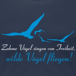 Wilde Vögel - Frauen Premium T-Shirt