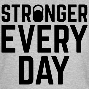 Stronger Every Day T-shirts - T-shirt dam