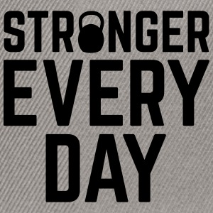 Stronger Every Day Caps & Hats - Snapback Cap