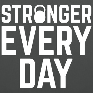 Stronger Every Day Bags & Backpacks - Tote Bag