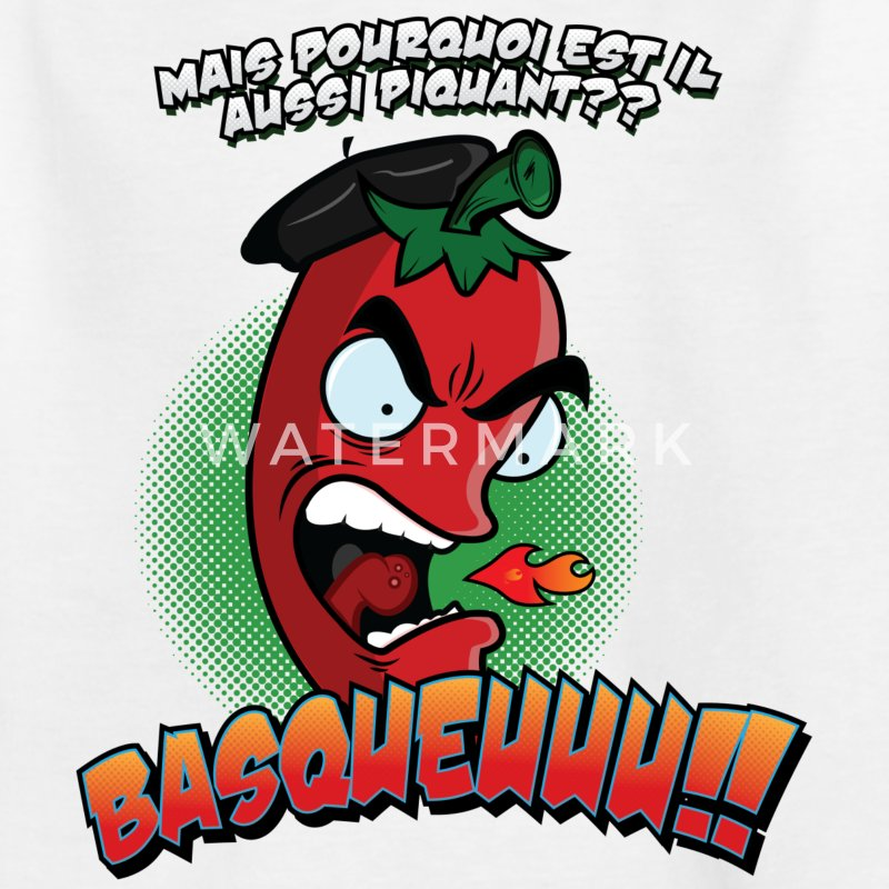 Piment Basque Tee shirts - T-shirt Ado