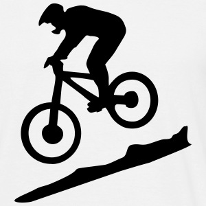 downhill biking - mountain biking Tee shirts - T-shirt Homme