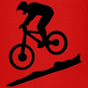 downhill biking - mountain biking T-Shirts - Teenager Premium T-Shirt