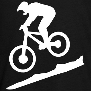 downhill biking - mountain biking Langarmshirts - Teenager Premium Langarmshirt
