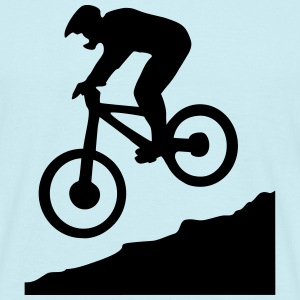 downhill biking - cycling Tee shirts - T-shirt Homme