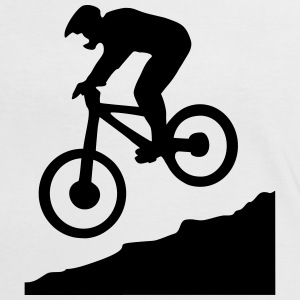 downhill biking - cycling T-Shirts - Frauen Kontrast-T-Shirt