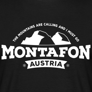 Montafon Mountains T-Shirt - Männer T-Shirt