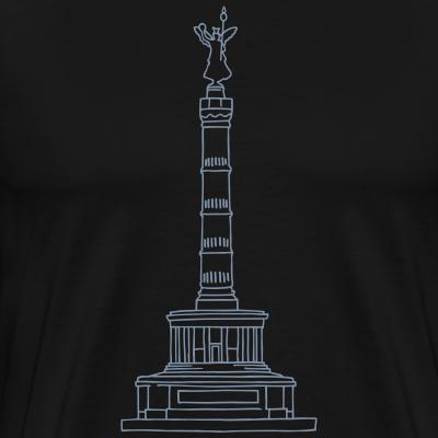 Siegessäule silber-metallic Berlin Tiergarten