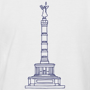 Berlin Victory Column T-Shirts - Men's Baseball T-Shirt