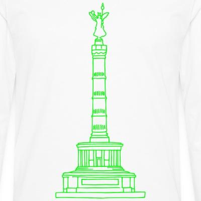 Siegessäule neon-grün berlin-t-shirt